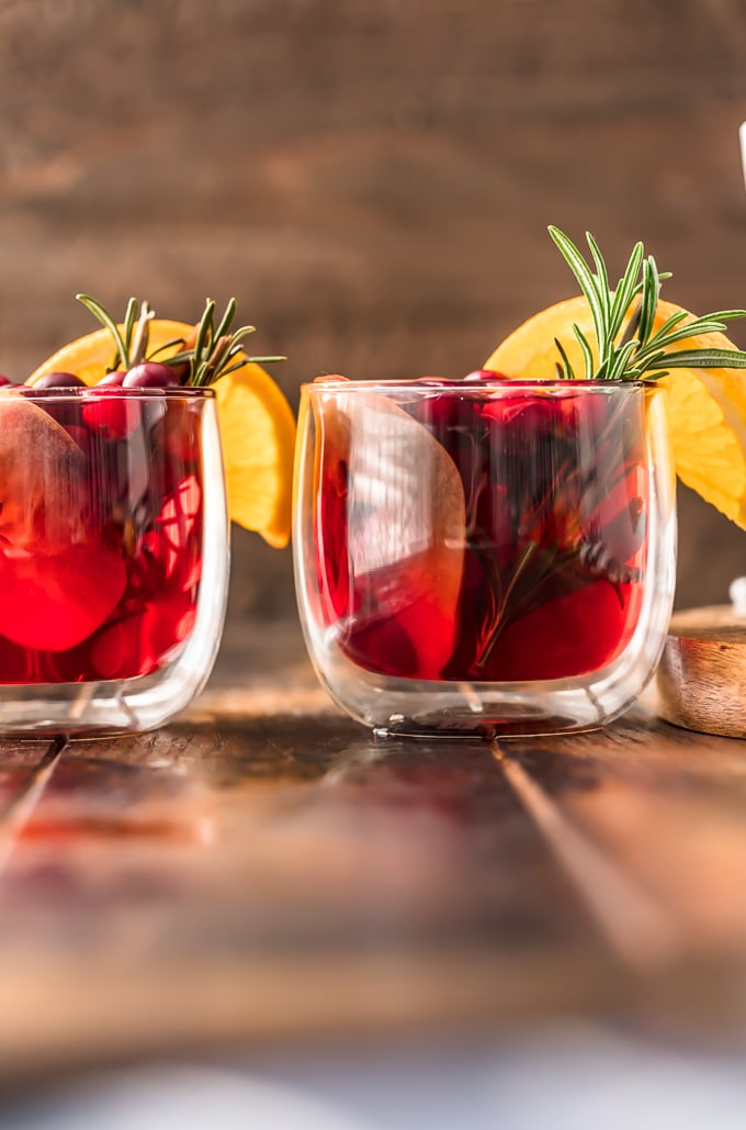 Cranberry Apple Spiced Cider