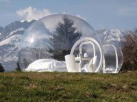 Crystal Bubble Portable Home  TheCoolist - The Modern ...