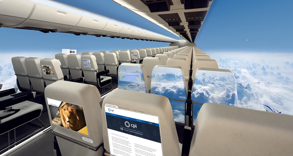 CPIs Windowless Planes of the Future Are Not for the Faint of Heart  TheCoolist  The Modern Design Lifestyle Magazine