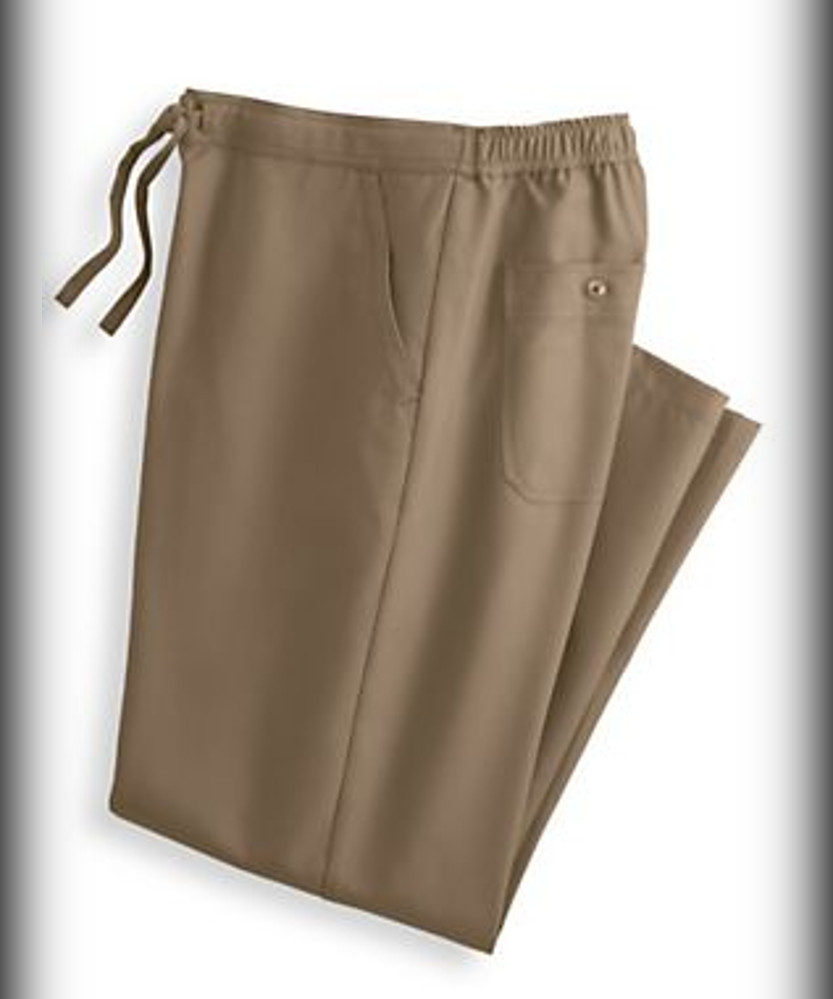 John Blair Linen-Look Drawstring Slacks - summer pants for men beach