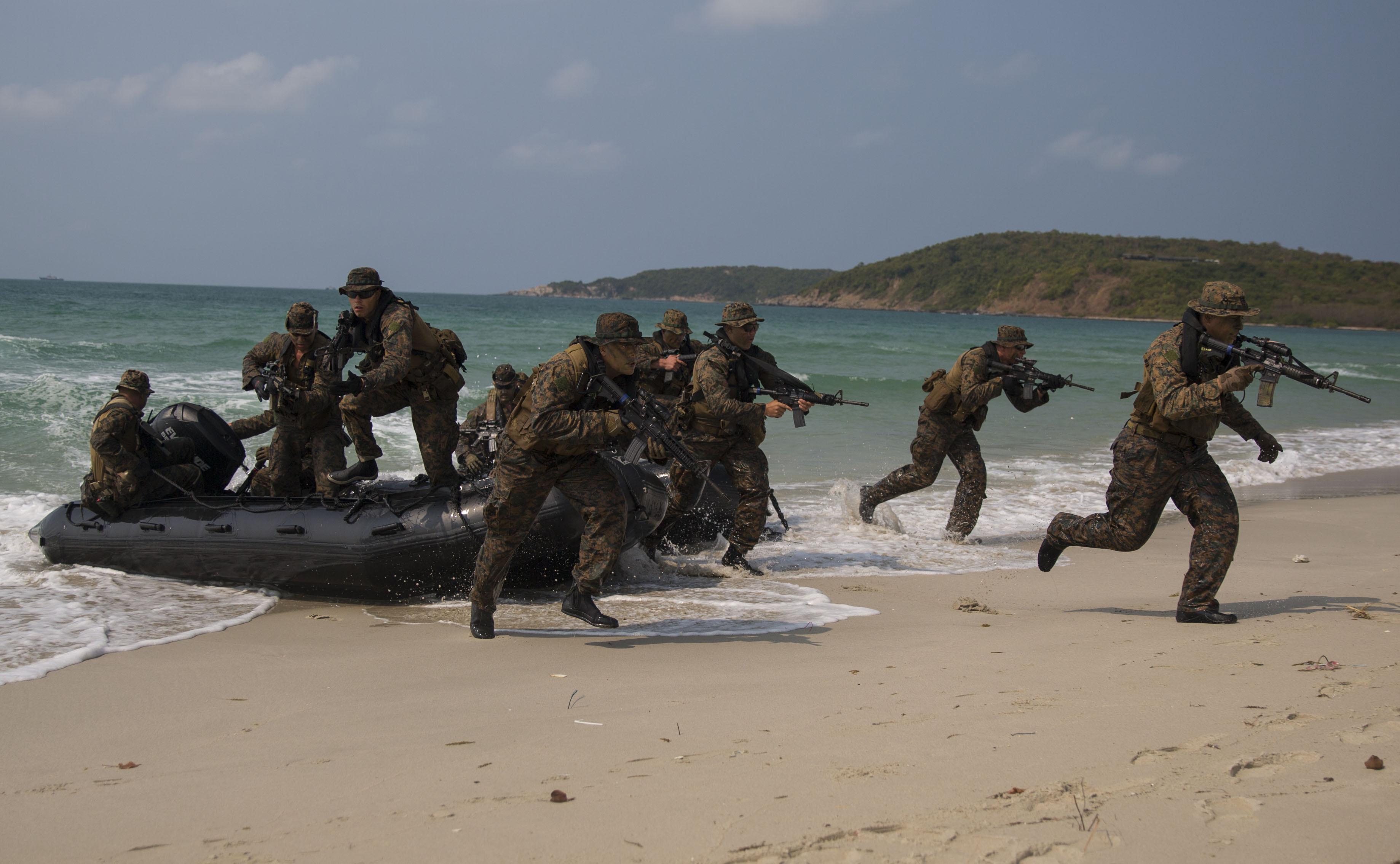 beach assault