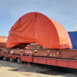 E2E Supply Chain Management is handling a massive OOG/breakbulk shipment worth $500,000