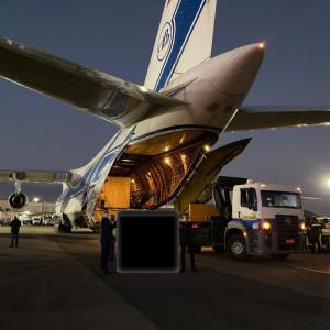 Channel Freight Services charters an Antonov -124 to move an ODC cargo