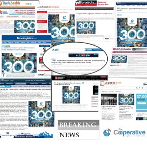 The news about Coop's record number of members receives a truly global coverage!