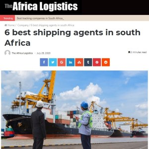 Stella Shipping gets listed as one of the best logistics company in South Africa