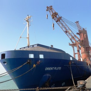 ACT Shipping moves 189 units of breakbulk shipment for the construction of a military hospital