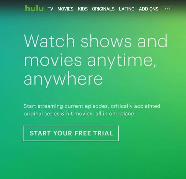 Hulu free trial offer