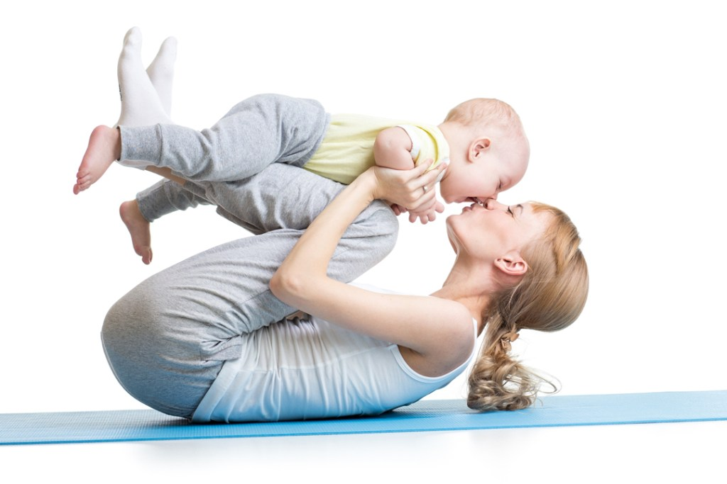 Mums and Bubs Yoga classes