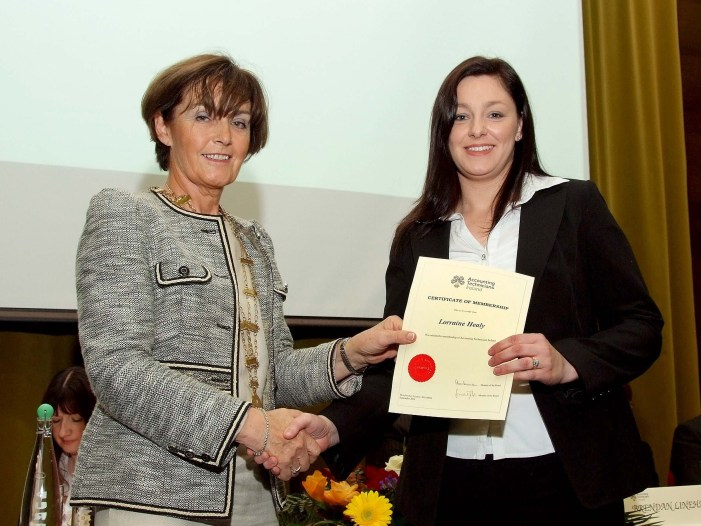 Cork students graduate with AITI