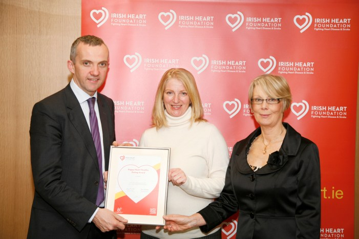 Cork company receives healthy eating award