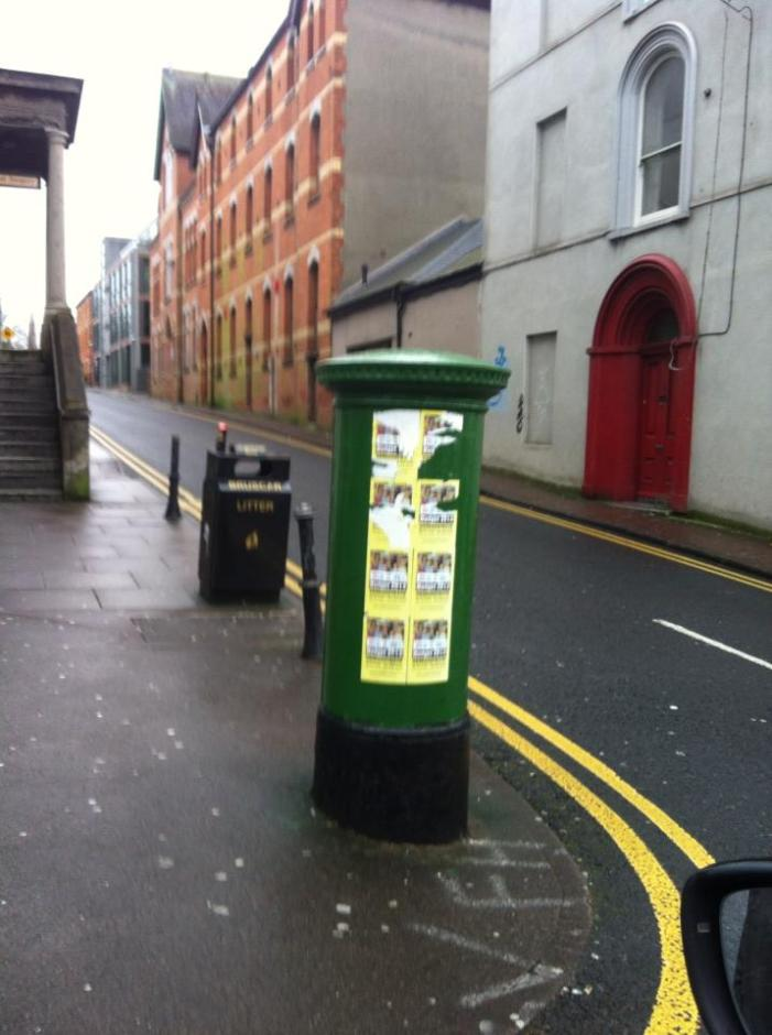 "[Audio] ""Post no bills"" says FG Cllr"