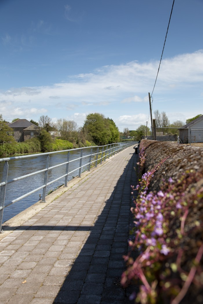 Walkway named after Grahman Norton in Bandon (Co Cork, Ireland)