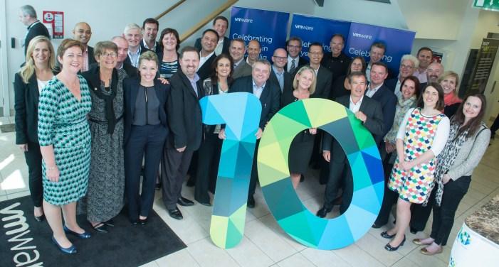 VMWare celebrate 10 years in Cork