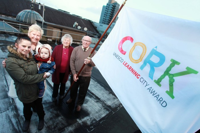 Cork Receives Global Recognition as a Learning City
