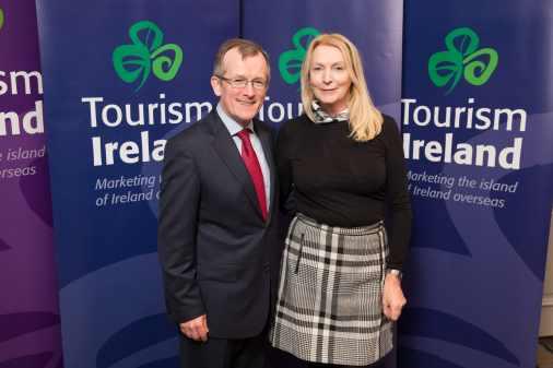 Fota wildlife Park rep attends launch of Tourism Ireland's 2016 marketing plans in Dublin