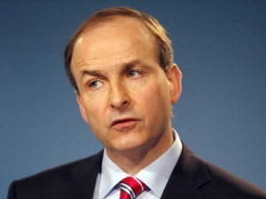 Fianna Fail Leader (and Cork TD) Micheál Martin pays tribute Terry Wogan