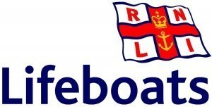 Youghal RNLI rescue dog swimming out to sea off Pilmore beach