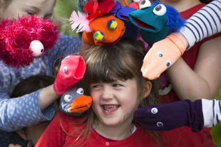 WORLD RECORD: Most People Wearing SOCK puppets – Part of Cork Puppetry Festival – 30th July to 7th August