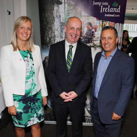 WEST CORK: Junior Minister Jim Daly visits New Zealand for St Patrick's Day