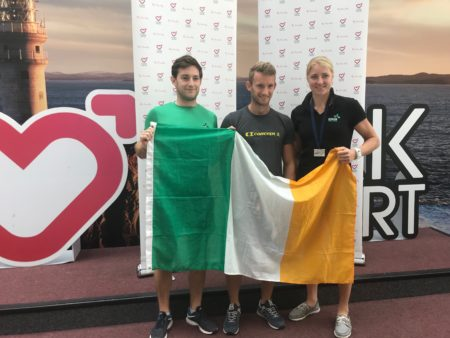 GOLD MEDALS: West Cork Rowers Gary and Paul O'Donovan arrive into Cork Airport