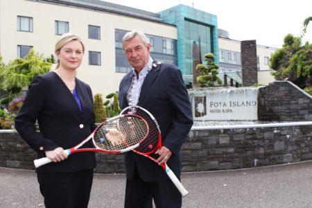 SPORT: Munster Tennis Hub opens at Fota Island Resort