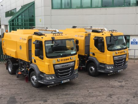 Cork County Council buys new vehicles to ensure good winter road service
