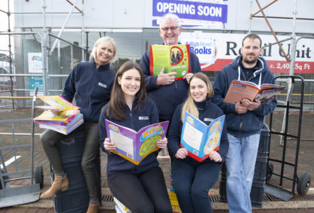 Large bookseller 'High Street Books' of Douglas moves to larger premises
