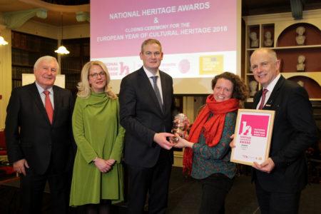 Cork's 'heritage heroes' acknowledged at National Heritage Awards 2018