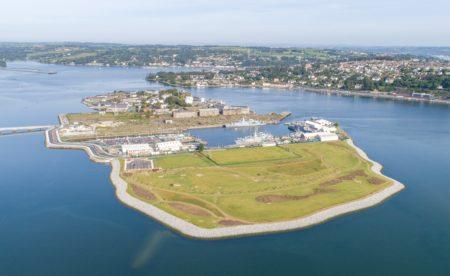 Refurbishment at Haulbowline Naval Base