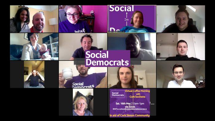 Cork Social Democrats fundraise for Cork Simon Community