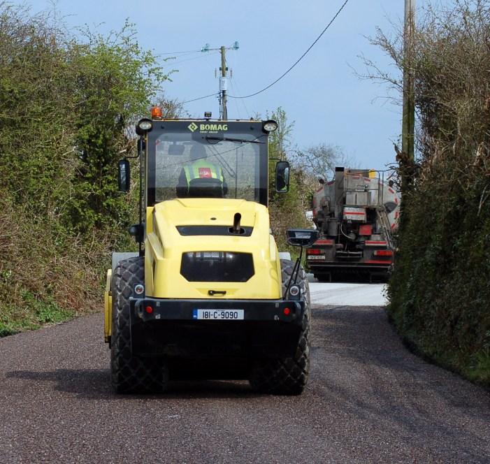 Council Awards Cork County Road Resurfacing Contract 2021