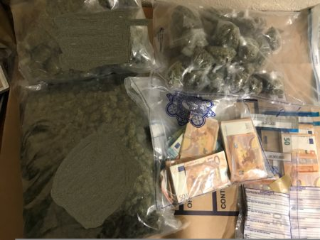 CRIME: Drugs & Cash worth more than €50,000 seized in Cork