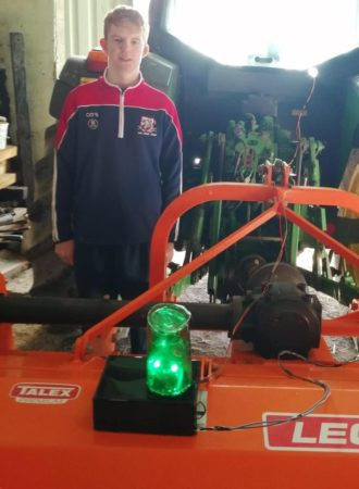 FARMING: Cathal O'Sullivan from #WestCork wins ABP Farm Safety Award at @BTyste