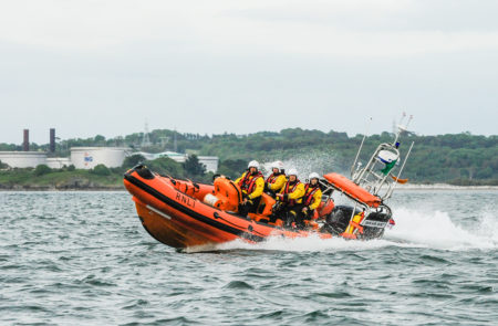 Cork Lifeboat rescues 2 anglers