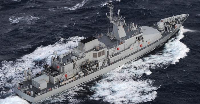 Irish Naval Service escorts Belgian Fishing Vessel to Castletownbere #WestCork