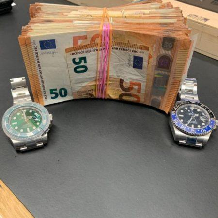 CORK CRIME: 2 Rolexs and 18k in cash