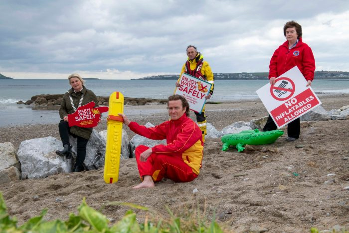 VIDEO: Here's why you shouldn't use inflatables on the sea #InflatablesWaterSafety