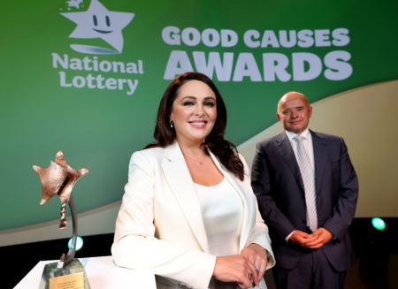 Graffiti Theatre Company scoops Arts & Culture Award at National Lottery Good Causes Awards
