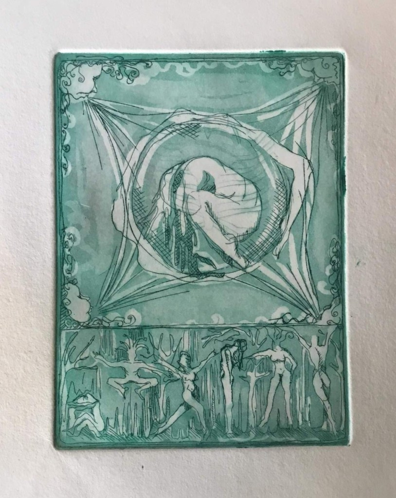 green etching