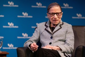 Coronavirus outbreak isn't stopping Ruth Bader Ginsburg's workouts