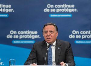 Quebec premier to provide update on province's coronavirus response