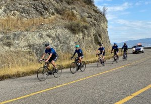 Cops for Kids Ride finishes 20th annual fundraiser in Kelowna