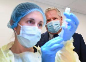 Premier Doug Ford to get the AstraZeneca COVID-19 vaccine on camera