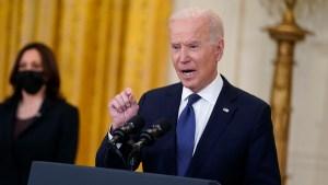 Inflation, Gas Shortage Highlight Peril That Could Threaten Biden's Agenda