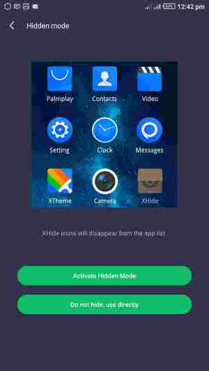 how to setup xhide on any infinix smart phone