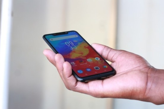 Infinix Hot 7 display review