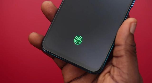 under-display fingerprint reader