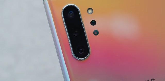Samsung Galaxy Note 10 Plus rear cameras
