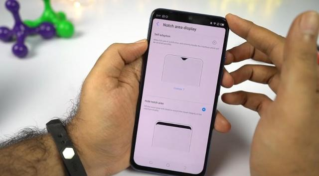 How to hide the notch on Tecno Phantom 9
