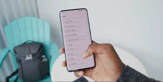 OnePlus 7T pro display overview